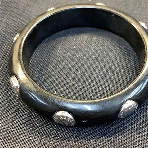 Marc Jacobs black/silver bangle
